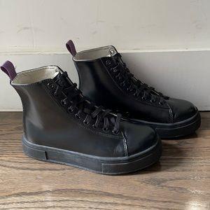 Eytys black sneaker boots